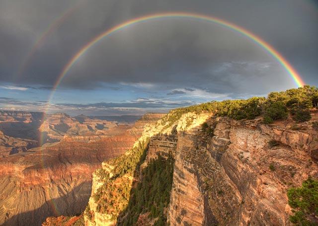 Yavapai Point Rainbow