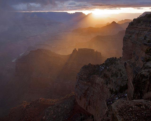 Hopi Point Sunrise